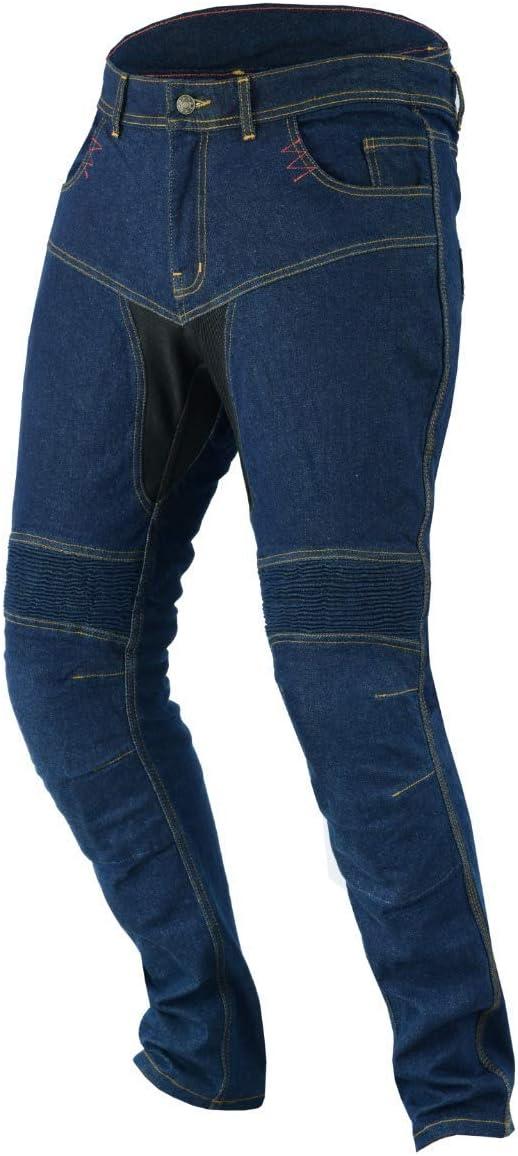 L Jet Motorradhose Jeans Kevlar Aramid Mit Protektoren Herren TECH PRO 50 Kurz//Weite 34 L/änge 30 , Grau