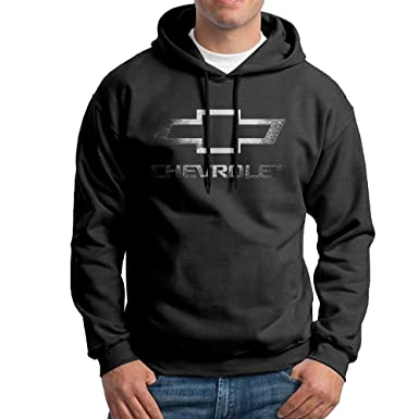 Mens Chevrolet Logo Soft Touch Fabric Hoodies