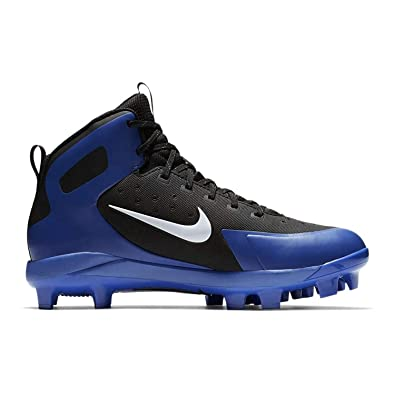 factory authentic 00ee8 e1c3f Amazon.com   Nike Men s Alpha Huarache Pro Mid Baseball Cleats   Baseball    Softball