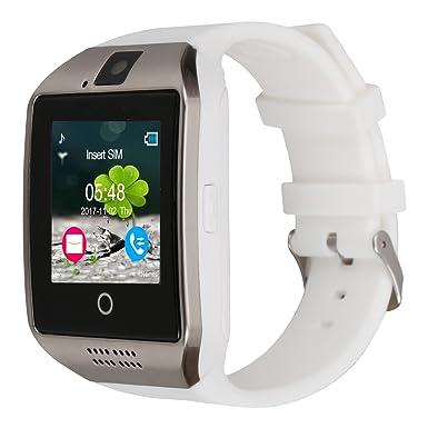 kivors Q18 Bluetooth reloj inteligente con cámara apoyo SIM tarjeta y tarjeta de TF podómetro Fitness