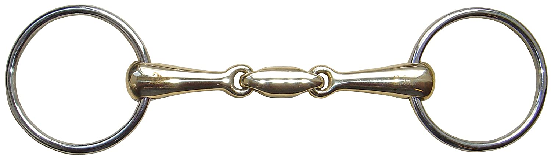 Harrys Horse Wassertrense Kupfer doppelt gebrochen St/ärke 20 mm 12,5 cm