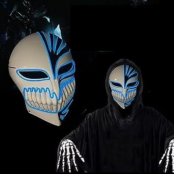 AMERICANSTAR EL Draht Leuchten Maske Halloween Horror LED Maske mit ...