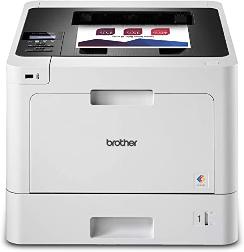 Brother HL-L8260CDW Business Color Laser Printer, Duplex Printing, Flexible Wireless Networking, Mobile Device Printing, Advanced Security Features Amazon Dash Replenishment Ready