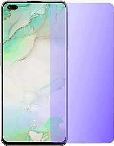 For Vivo V19 Anti blue Screen Protector antishock and anti fingerprint - clear