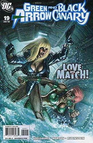 Green Arrow/Black Canary #19 VF/NM ; DC comic book