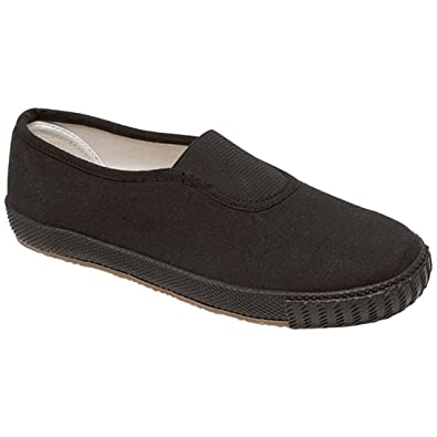 99b7801f3f10 Childrens Boys School Pe Pumps Girls Unisex Gym Sports Trainers Plimsolls  Shoes  Amazon.co.uk  Shoes   Bags