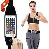 Running Belts, Running Belt Waist Pack Fanny Pack Pouch, iPhone 6 , 6s, 7 8 Plus Holder for Runners, cards, keys, money belt outdoor sports, jogging, cycling for women, men