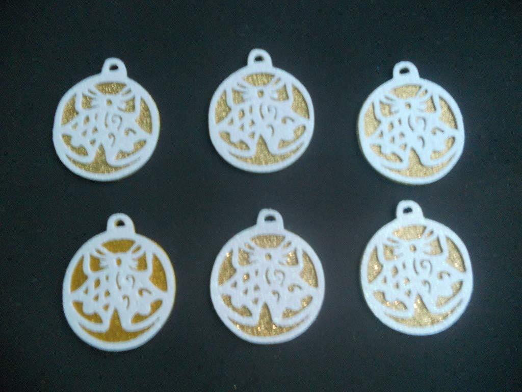 6 Bolas con campanas, esferas de Navidad para decorar de ...