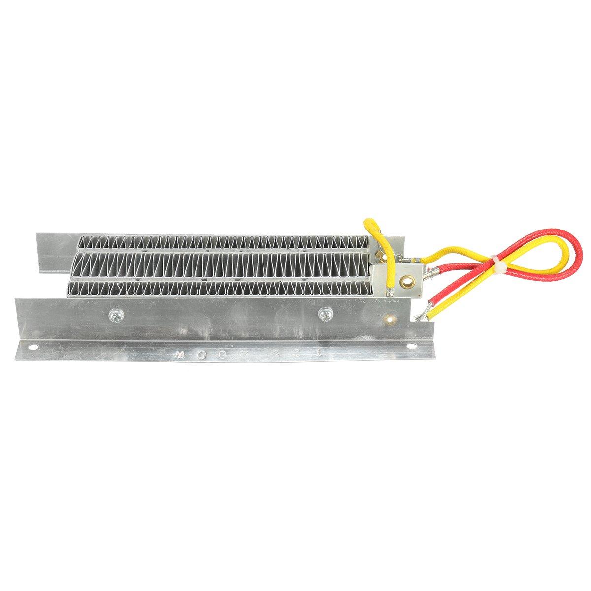ILS Kit 400W 12V elettrico in ceramica termostatica isolamento PTC riscaldamento elemento riscaldante