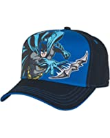 Concept One Boys Batman Snapback Hat - Black One Size Fits Most Black, Blue