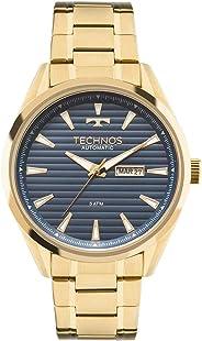 Relógio Technos Masculino Ref: 8205nx/4a Automático Dourado
