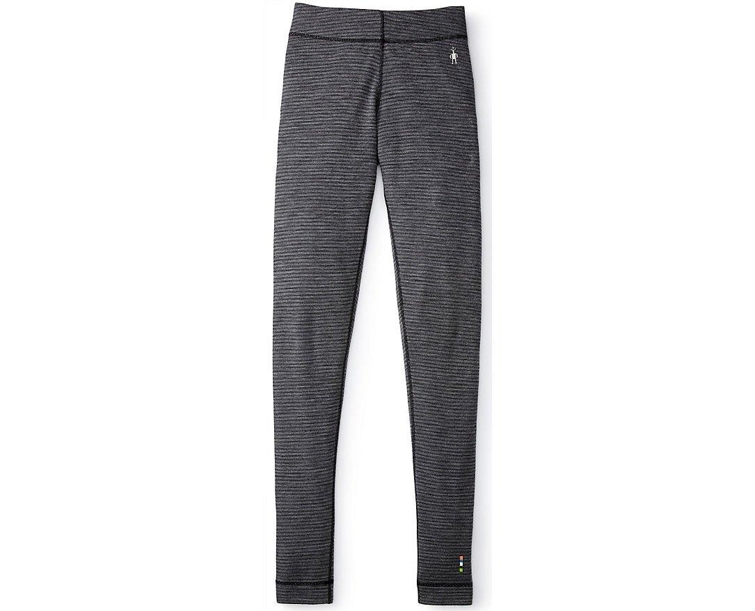 SmartWool Women's NTS Mid 250 Pattern Bottom (Black/Light Gray) Medium