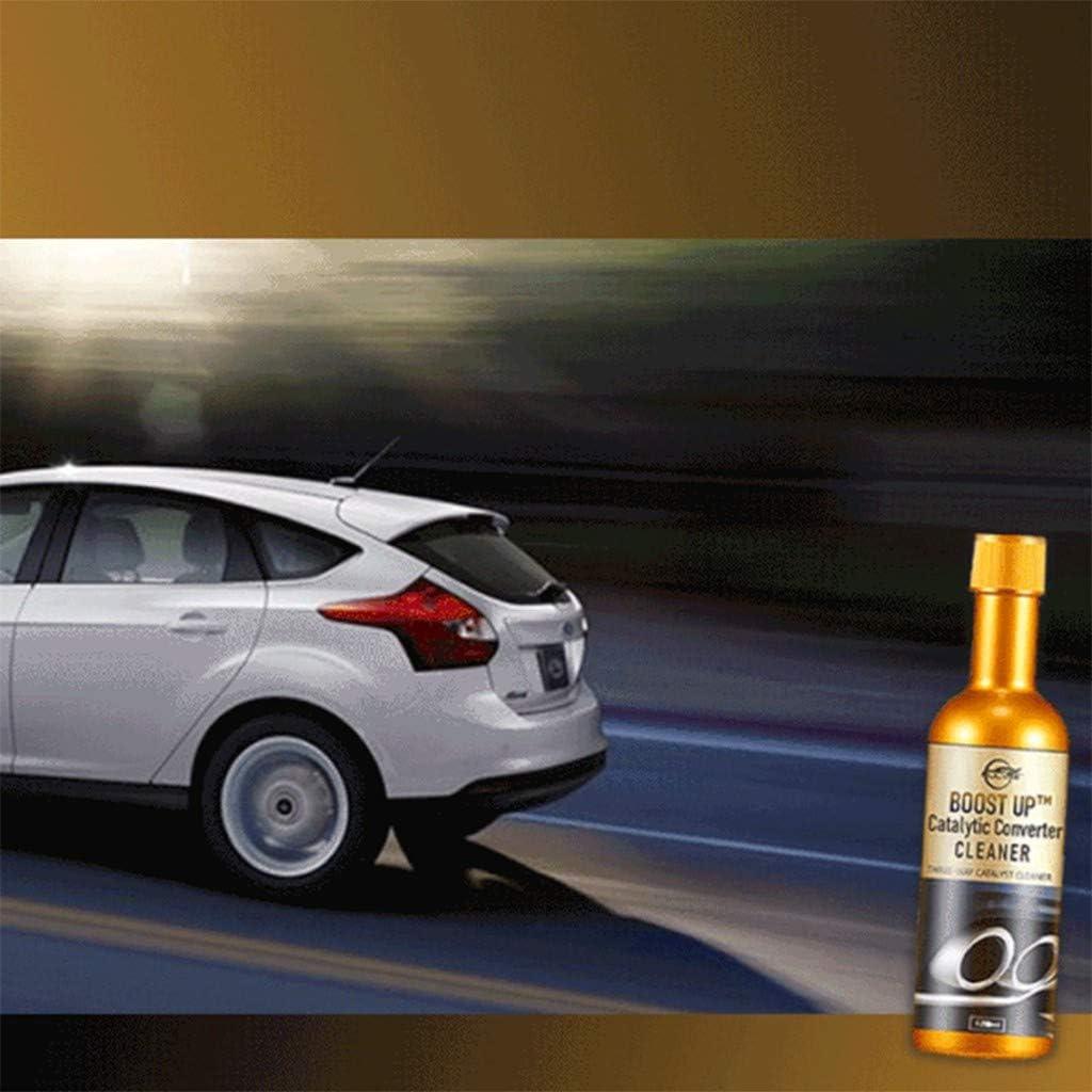 Eariy 120ml Catalytic Converter Cleaner Engine Booster Cleaner Katalysator Reiniger Für Benzin Diesel Hybrid Und Flex Fuel Fahrzeuge Reiniger Für Motor Katalysator Booster Sport Freizeit