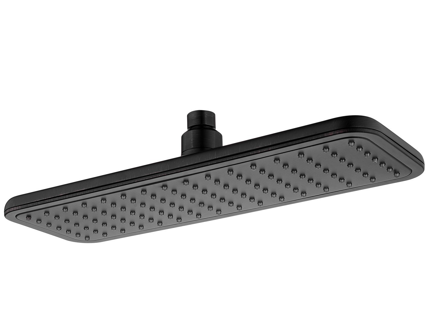 14 Inch Rain Shower Head Covering with Silicone Nozzle and Powerful Spray Performance