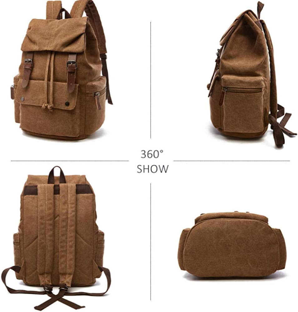 Laptop Rucksack Mens and Womens Waterproof Solid Back Page Best Laptop Backpack yd02