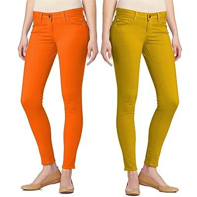 2 Pack 5 Pocket Skinny Uniform Pants