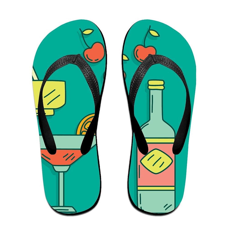 Fondue Summer Casual Wedge Platform Flip Flops Beach Sandals, Unisex