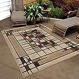 "Orian Rugs Indoor/Outdoor Blocks Dreco Multi Area Rug (3'10"" x 5'5"")"