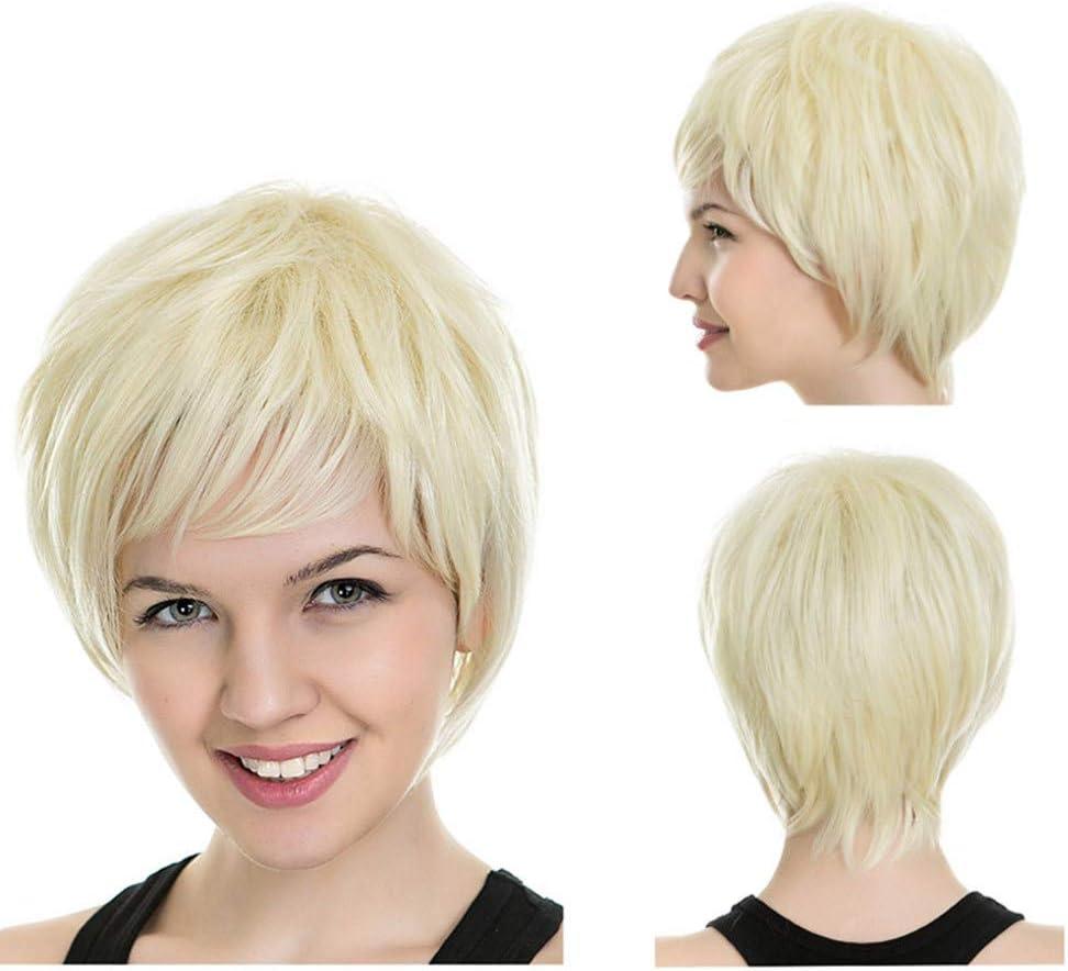 Angelof - Peluca de pelo natural para mujer: Amazon.es: Belleza