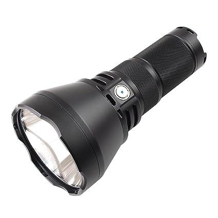 ThruNite TN42 2000 Lumen CREE XHP 35 Hi LED Flashlight Black Powered by 418650 Batteries(Cool White)