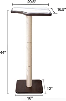cat tree with small base