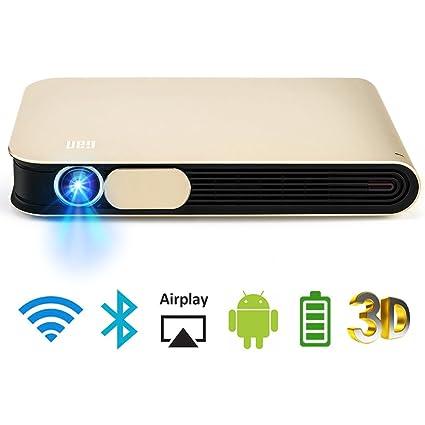 WOWOTO DLP Mini Projector 3D Full HD LED Projector 3500 Lumens ...
