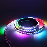 SHAND 2m 3m 4m 5m 5V 2812 WS2812 LED verlichting met individueel adresseerbare pixels smart RGB Led met zwart/wit PCB…