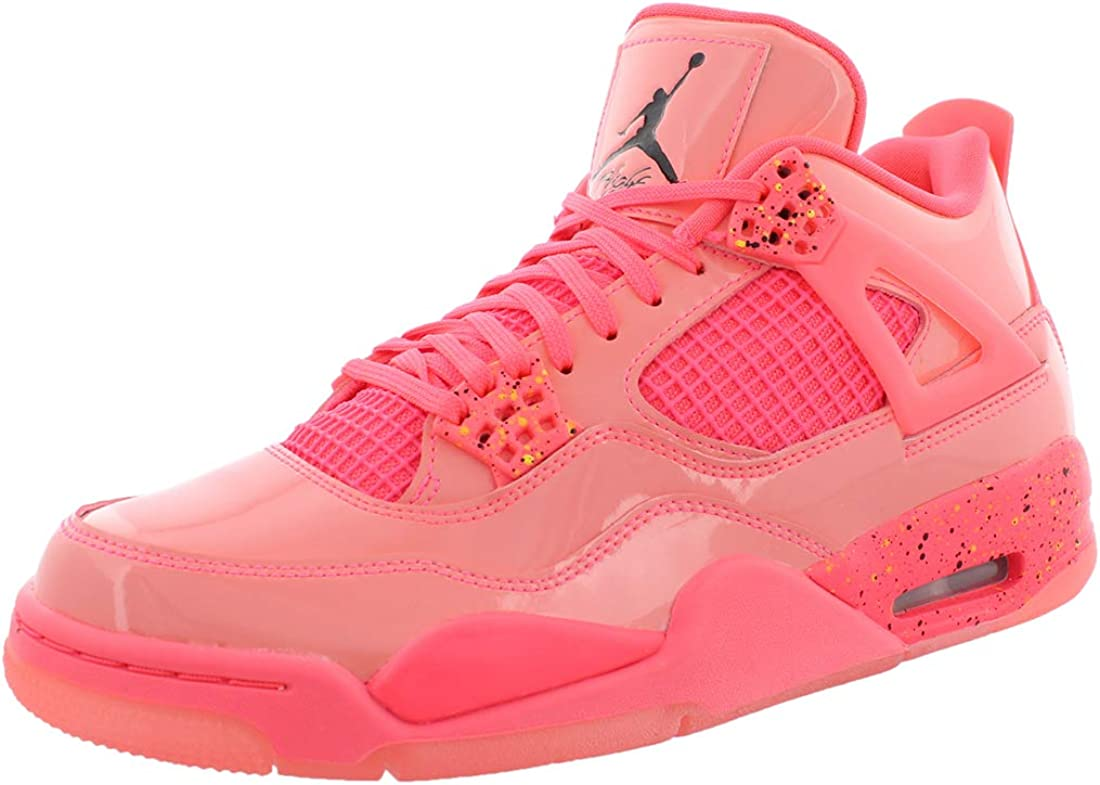 pink jordan 4 hot punch