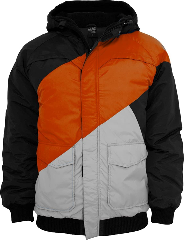 Urban Classics Men's TB435 Zig Zag Fastlane Jacket