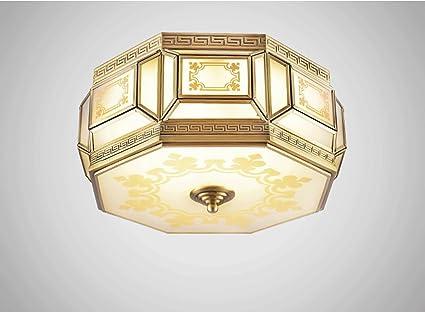 ZHDC® Nuevas lámparas de techo chino, dormitorio principal ...
