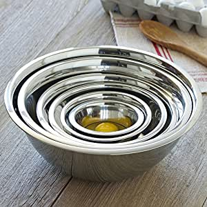 CHEFS Stainless Steel Mixing Bowls