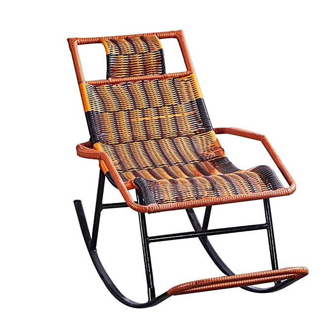 Amazon.com: Bseack_Store Chair Rocking Chair, Wicker Chair ...