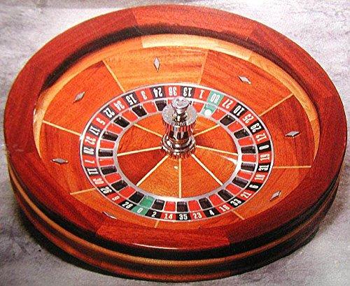 27'' Roulette Wheel, Maple Wood