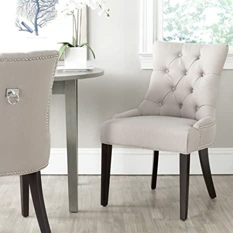 Phenomenal Safavieh Mercer Collection Harlow Ring Chair Taupe Set Of 2 Forskolin Free Trial Chair Design Images Forskolin Free Trialorg