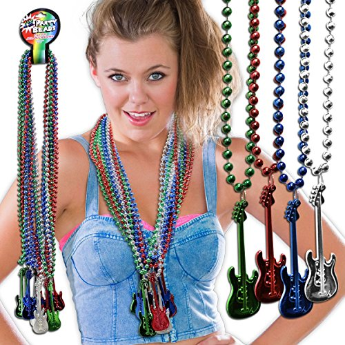 Guitar Bead Necklaces - 33