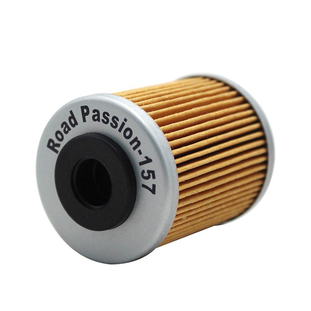 Road Passion Filtro Olio per KTM EXC 450 2003-2005 2007//EXC RACING 450 2006-2007//EXC-G RACING 450 2006 pack of 4