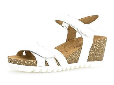 chaussures Femme plat 661 Gabor 23 D'été Compensées confortable sandales zpSGqUVM