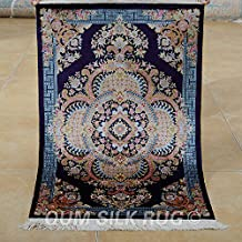 Camel Carpet Silk Handmade Colorful Small Tribal Country Area Rugs Persian 2'x3'