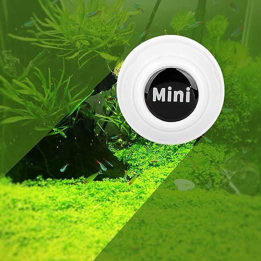 Green Aquarium Magnet Glass Cleaner Fish Tank Magnetic Brush Algae Scrapers Scrubber Floating Clean Brush Scratch-Free Magnetizing Brush