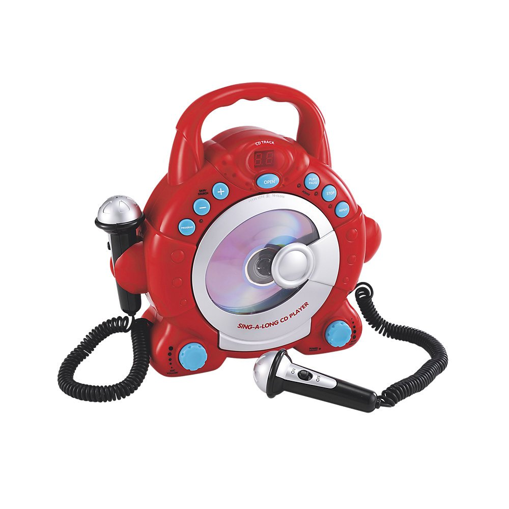 ELC Sing Along CD Player - Red Early Learning Centre 134440