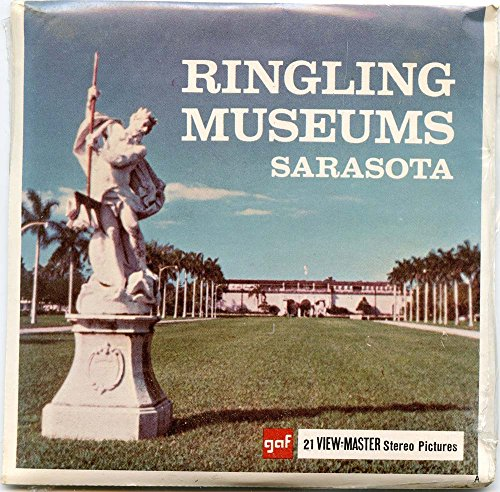 Classic ViewMaster -Ringling Museums, Sarasota, Florida - ViewMaster Reels 3D - unsold store stock - Never opened