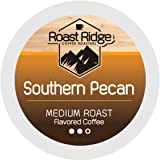 Roast Ridge Single Serve Coffee Pods Compatible with Keurig K-Cup Brewers, Southern Pecan, 100 Count