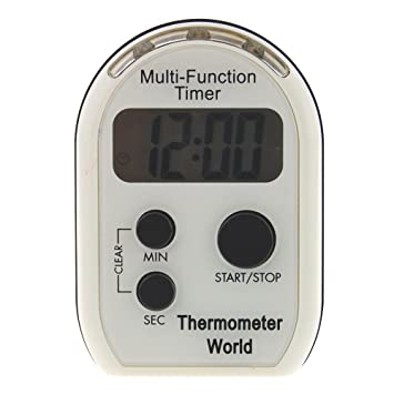 Multi función temporizador con vibración acústica y ...