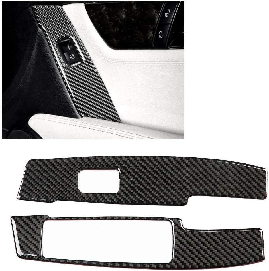 Fen/être commutateur Bouton panneau de garniture en fibre de carbone pour la classe C W204 07-13