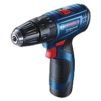 Bosch GSR120-Li Cordless Drill Driver, 12V Double Battery