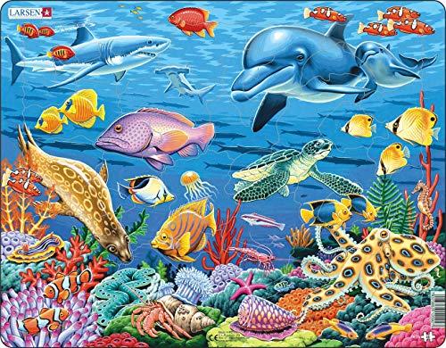 Larsen Puzzles Coral Reef Children
