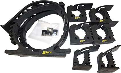 8 piece Quick Fist Clamp Mounting Kit 4- Pack