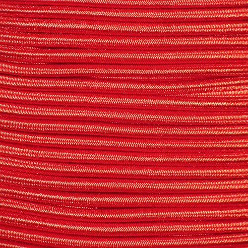 500ft Marine Masters 1/4'' Red Bungee Shock Cord by Marine Masters