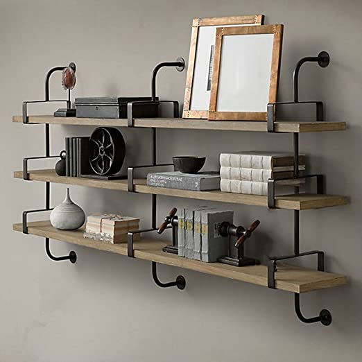 80x26 Floating Glass Wall Shelf Bathroom//Kitchen//Hallway Display