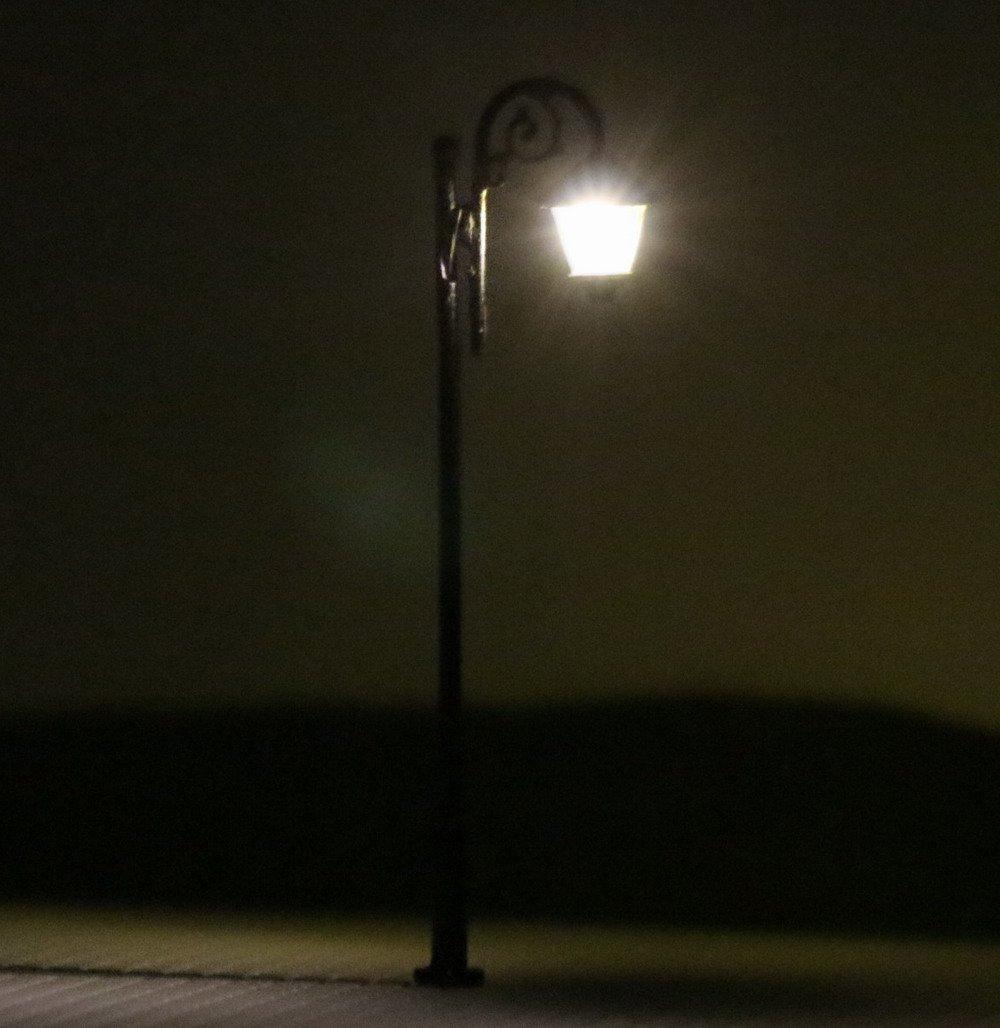 HO Scale Model Lamp Railway Train Post Street Lights HO OO Scale LEDs